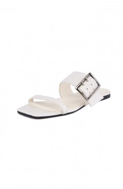 Papuci dama din piele naturala IBIZA SEA FOAM