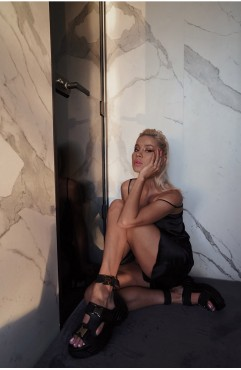 Sandale dama din piele naturala negre MYKONOS RIDE