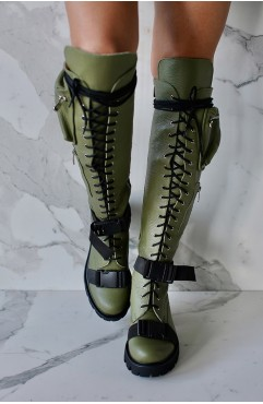 Bocanci dama kaki BOOT CAMP OLIVE 2.0