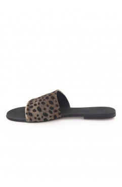 Papuci Bliss Ponei Animal Print