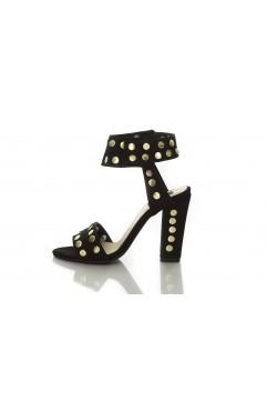 Sandale  dama din piele naturala cu toc  Riri