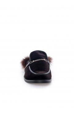 Papuci Aisha - Catifea