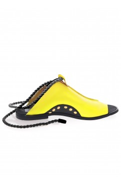 Coconut yellow sandals