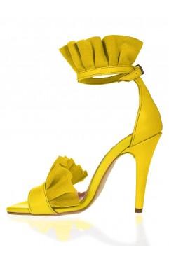 Krissy yellow sandals