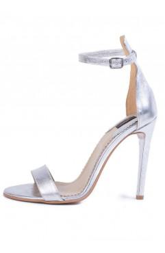 Adeline Silver Sandals