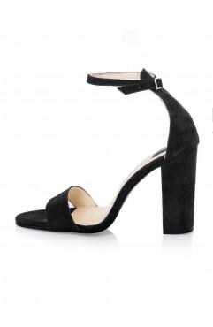 Black Thea Sandals