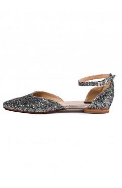 Alexis Grey Sandals