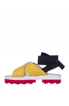 Sandale Anne Galben
