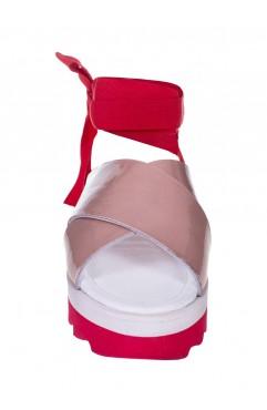 Sandale dama din piele naturala  Anne Nude
