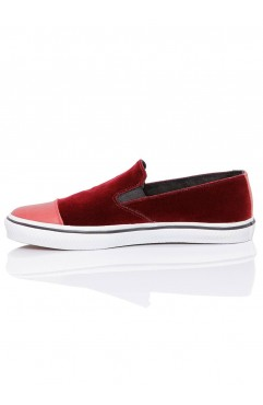 Sneakers Dama Leona Bordo