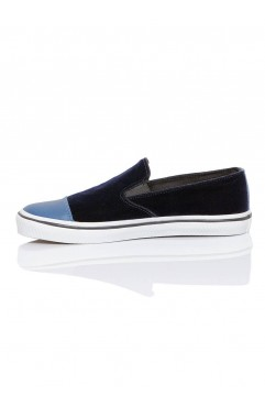 Sneakers Dama Leona Albastri