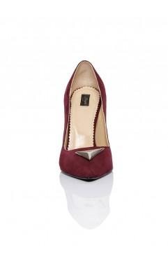 Pantofi Annora Bordo