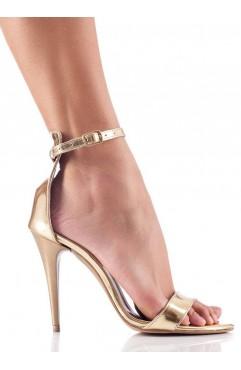 Sandale Adeline Auriu Oglinda