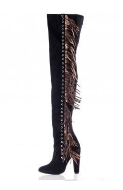 Black Freya Boots