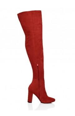Bordo Clara Long Boots