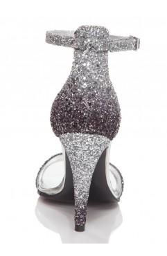 Sandale Adeline Glitter Argintii