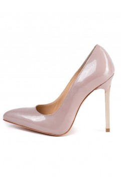 Pantofi Caroline Crem