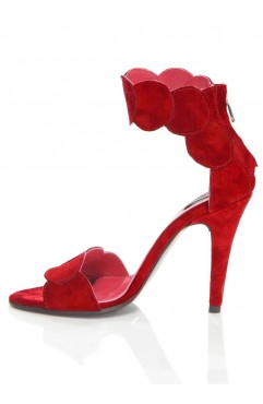 Red Aubrielle Sandals