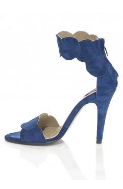 Blue Aubrielle Sandals