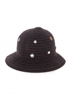 Brown Violette Hat