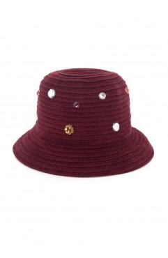 Bordo Violette Hat