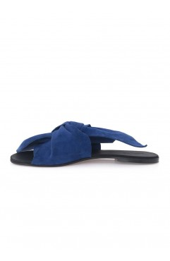 Blue Sonia Slippers