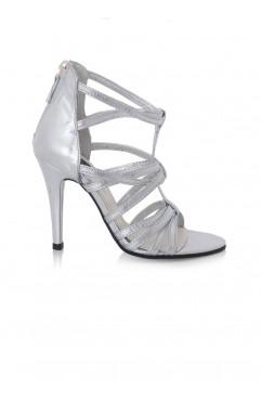 Silver Hera Sandals