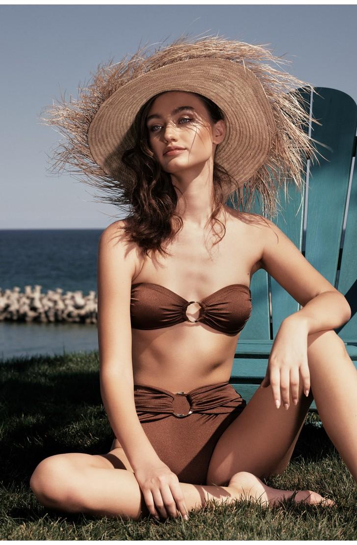 Slip De Baie Hera Modelator Cu Talie Inalta Si O-Ring